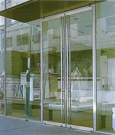 画像1: ヒンジ用スイングドア(ステンレス製)
