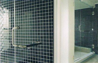 画像2: 浴室のガラスドアセット