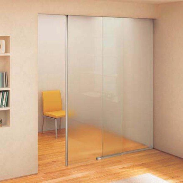 画像1: ガラスドア(引き戸) ポルタ GWF100 (1)
