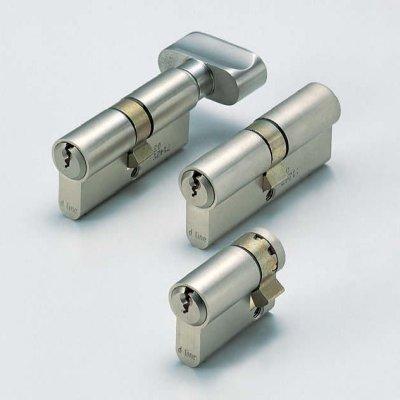 画像1: プロファイルシリンダー錠(モーティス・ケースロック用パーツ)