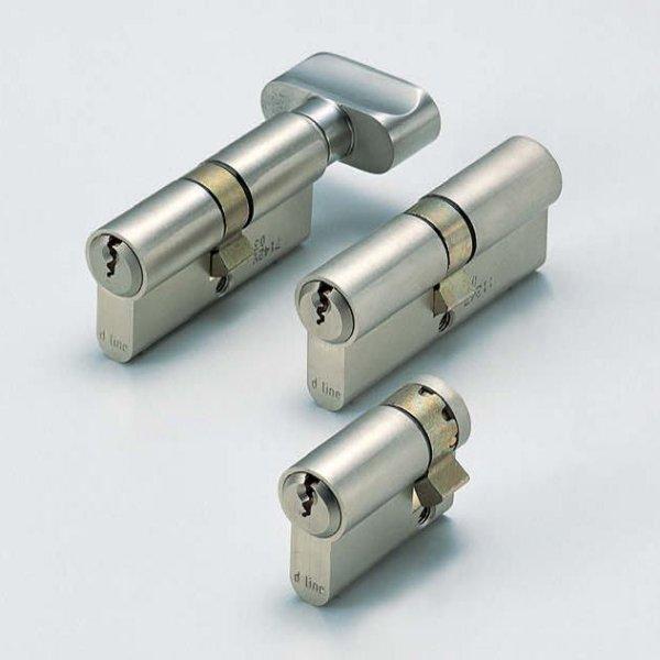 画像1: プロファイルシリンダー錠(モーティス・ケースロック用パーツ) (1)