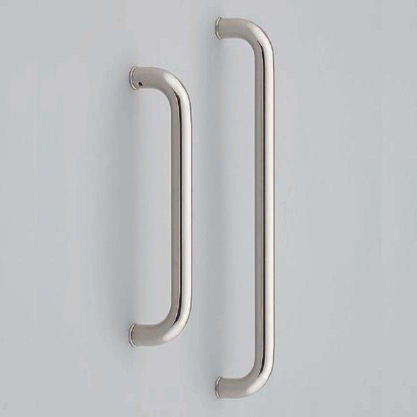 画像1: ステンレス鋼製ドアハンドルH8245/両面セット/全長:450mm,330mm (1)