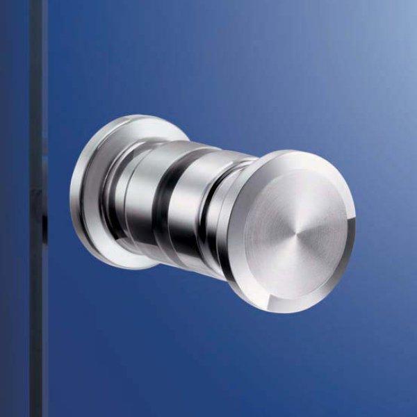 画像1: ステンレス鋼(SUS316)製 ドアノブZL-1503-WN-50/両面セット/直径φ:50mm (1)