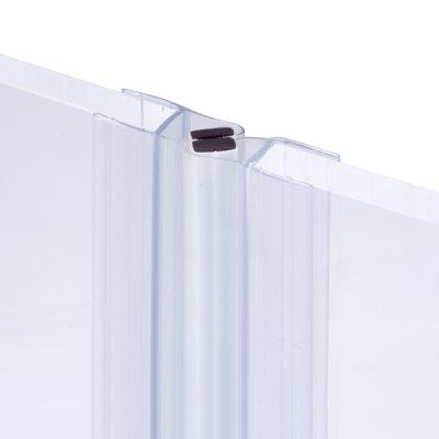 画像1: エッジシール(マグネットタイプ) OT-H710/ガラス厚10mm、8mm用/長さ:2.2m×2組