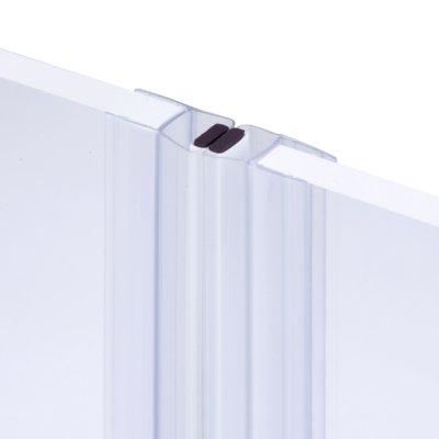 画像1: エッジシール(マグネットタイプ) OT-H720/ガラス厚10mm、8mm用/長さ:2.2m×2組