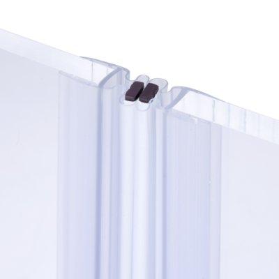 画像1: エッジシール(マグネットタイプ) OT-H730/ガラス厚10mm、8mm用/長さ:2.2m×2組