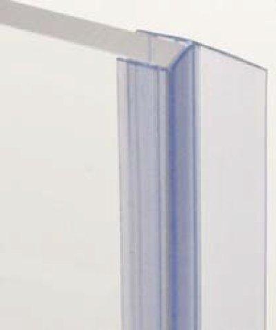 画像1: 浴室ガラスドア用エッジシール3本(Aセット)/ガラス厚8mm用