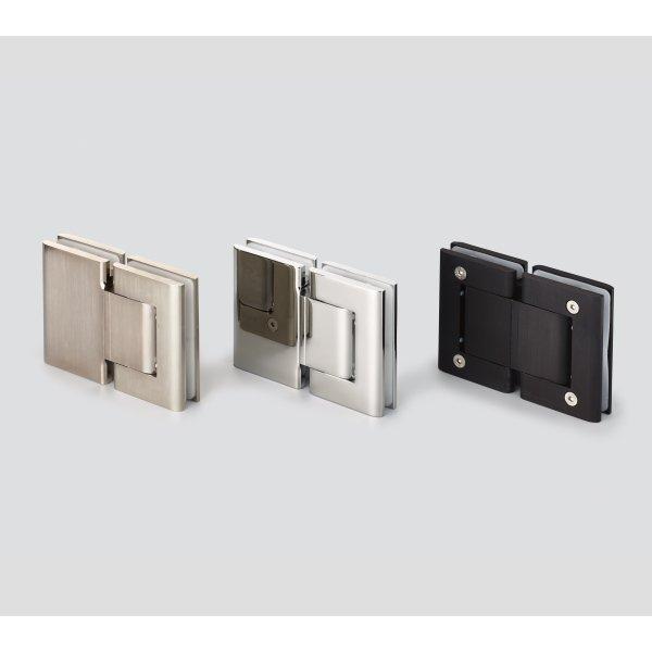 サテンステンレス調/クロムめっき/黒アルマイト処理 サテン仕上