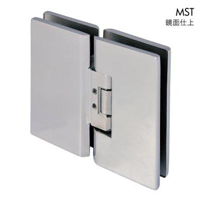 画像1: ステンレス重量ガラス用調整ヒンジ/ガラス板取付タイプ