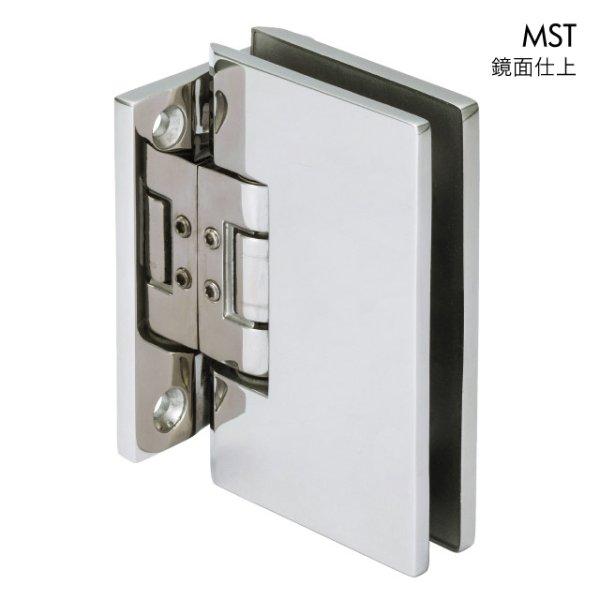 画像1: ステンレス重量ガラス用調整ヒンジ(壁取付タイプ) (1)