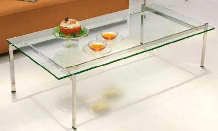 ガラステーブル Square Frame