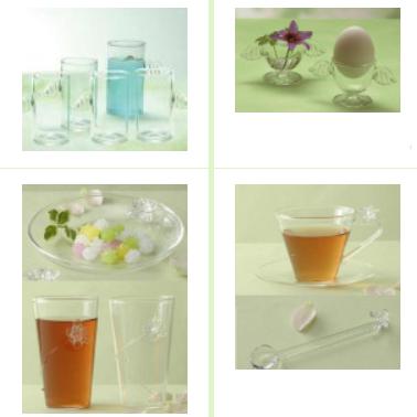 ガラス食器グラス、タンブラー、ピッチャー