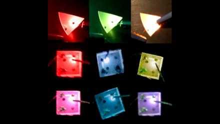 電流を変えると色が変わるLED