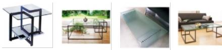 ガラステーブル(リビング用)