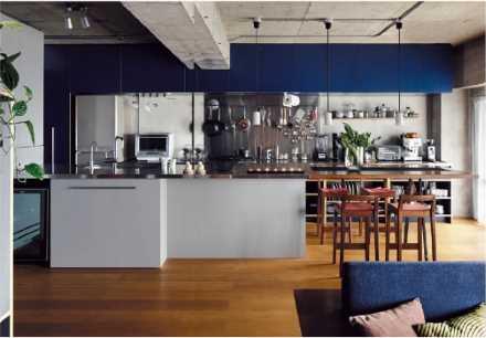 デザイン性と機能性を兼ねそなえた美しいキッチン.3