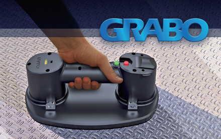 ポータブル電動バキュームリフター[GRABO]