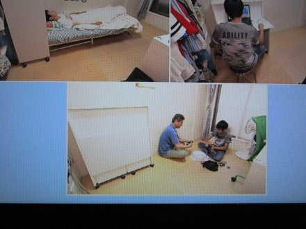 お部屋をいろいろな使い方が出来る「ぷちデスクベッド」