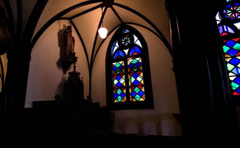 大浦天主堂(国宝)のステンドグラス