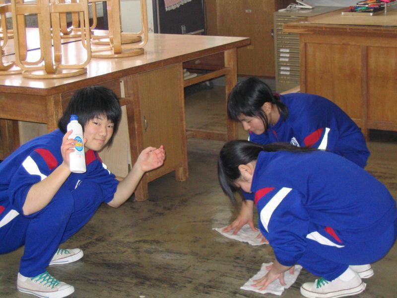 学校の大掃除