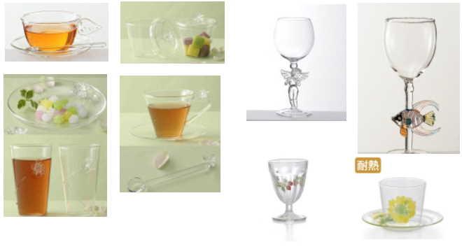 「ガラス食器」