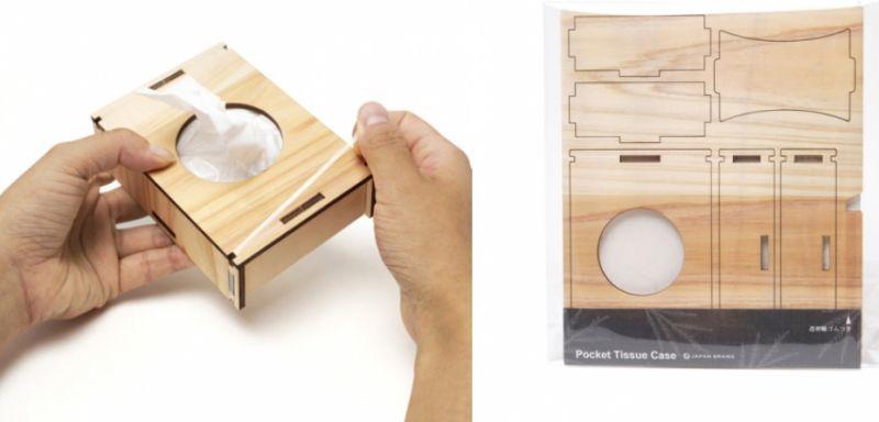 国産の木製ボックス