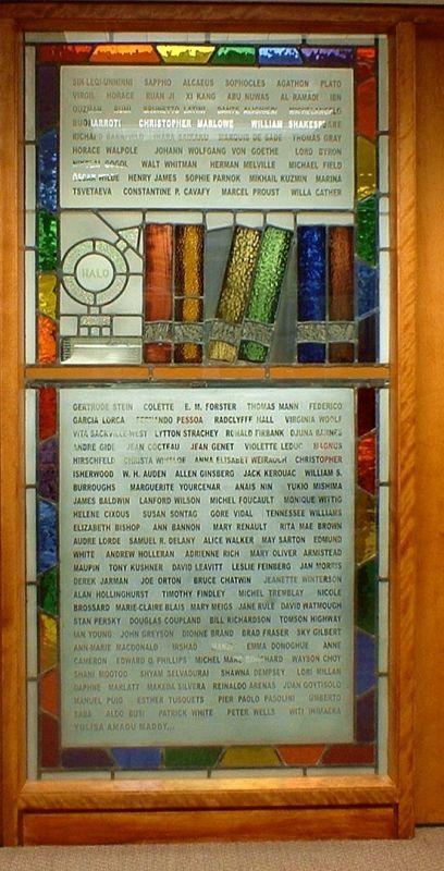 ステンドグラス記念窓(2006年頃)
