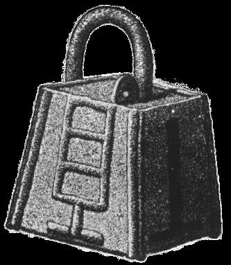 ロゴ付きの南京錠