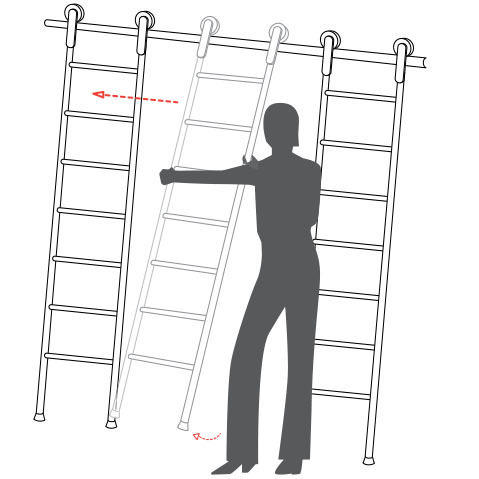 スライド梯子