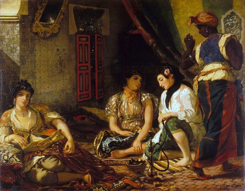 ドラクロワ『アルジェの女たち』