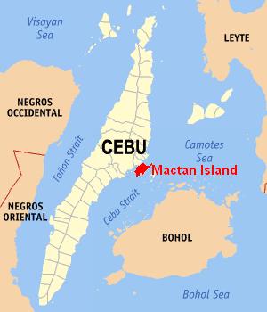 セブ島の東海岸