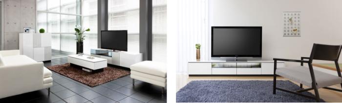 テレビボードとテーブル「RADUNI-NUOVO」(ラドゥー二・ヌーボ)」