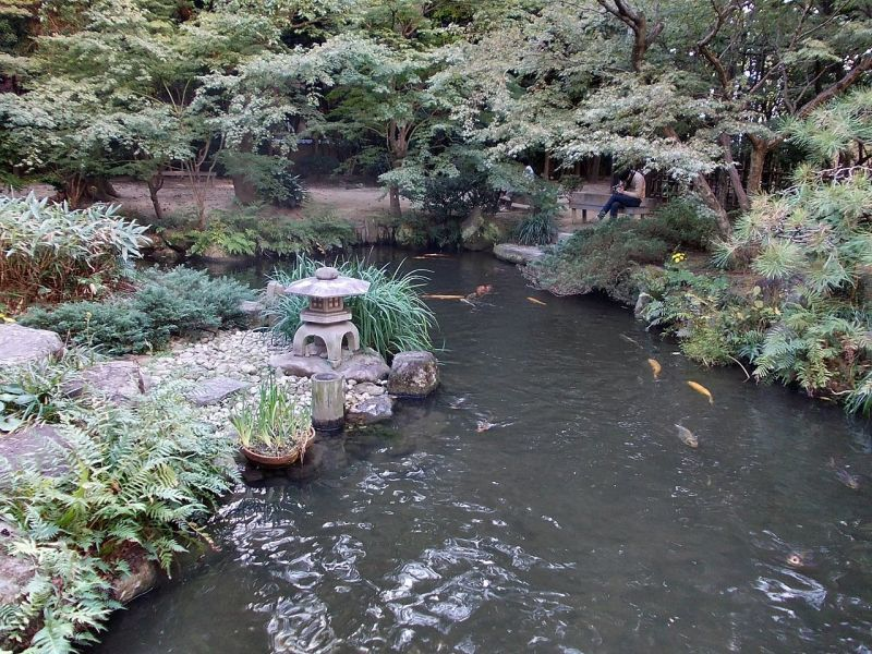 日本庭園、楽水園(らくすいえん)