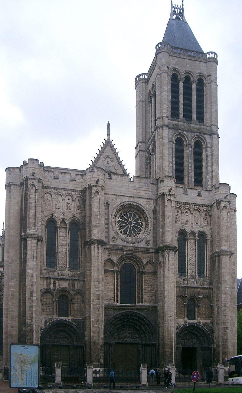 サン・ドニ修道院西正面