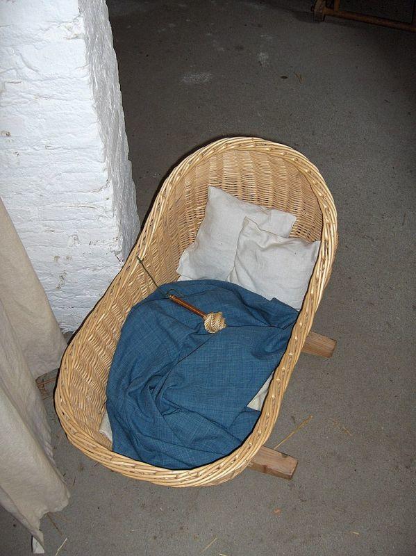 1465年頃のかご型ベッド