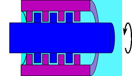 ラビリンスシールの構造