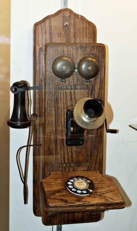 初期の電話機