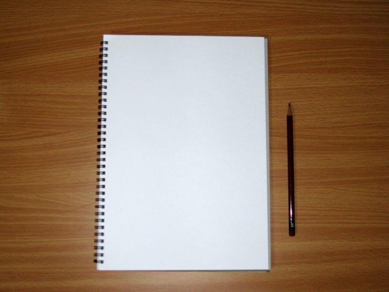 A4のスケッチブック