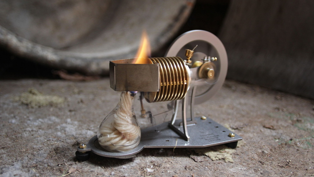 flame-licker エンジン