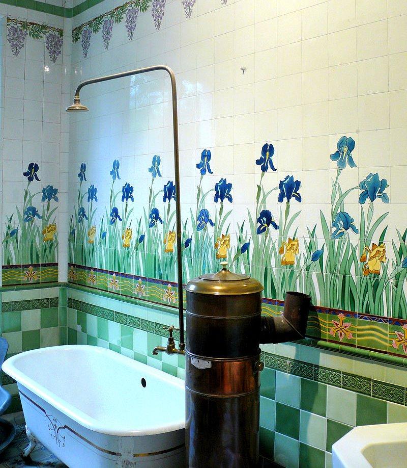 フランスの浴室