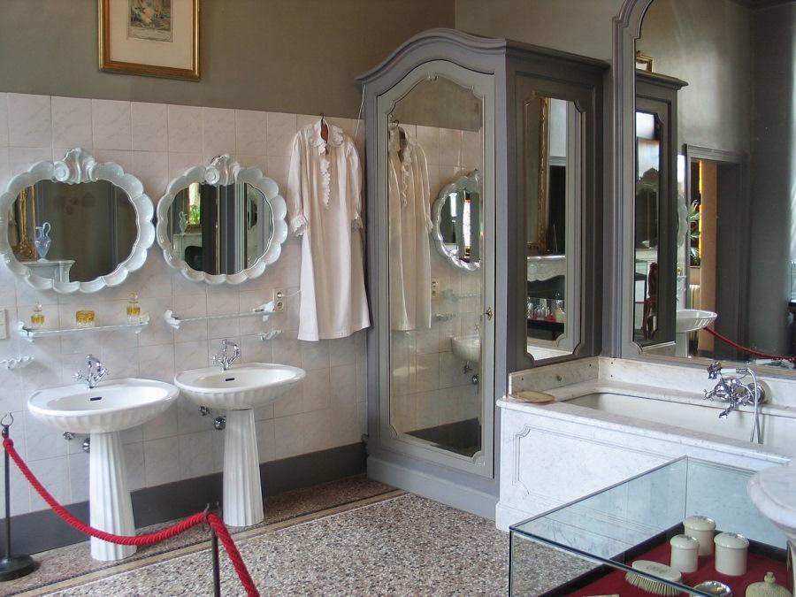 ベルギーの浴室