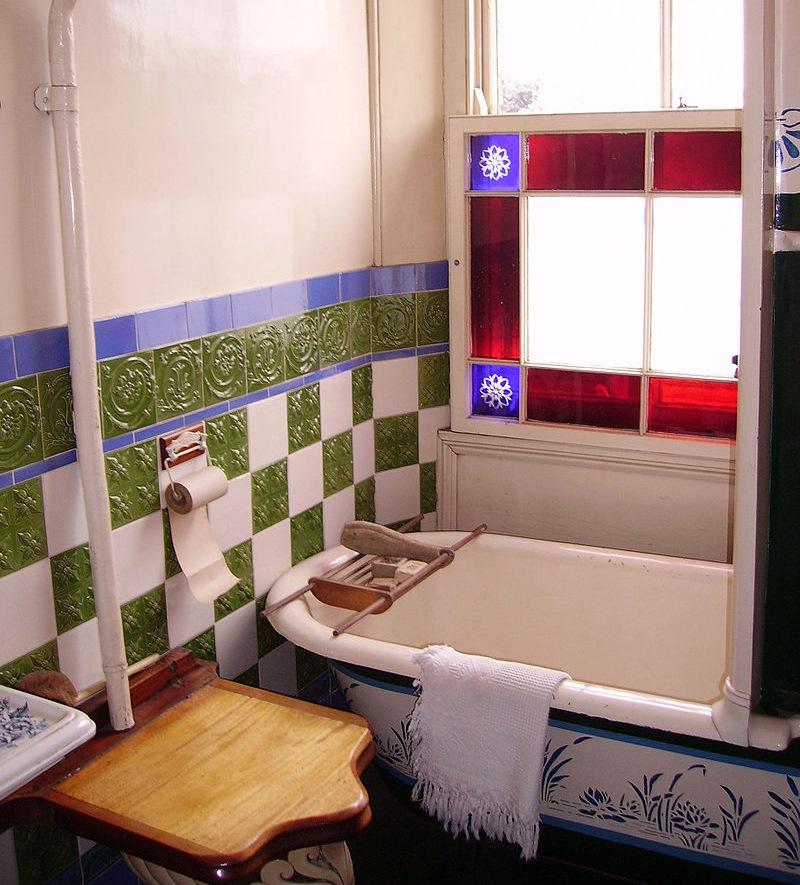 20世紀初頭の浴室