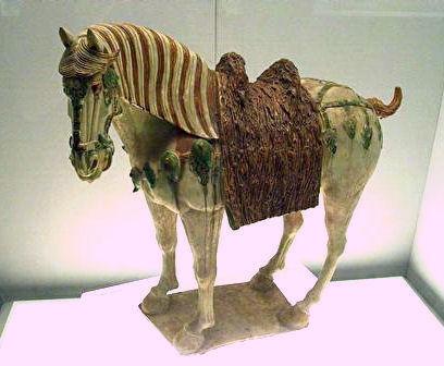 唐三彩の馬