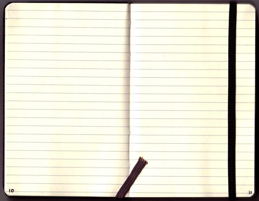 モレスキンの手帳