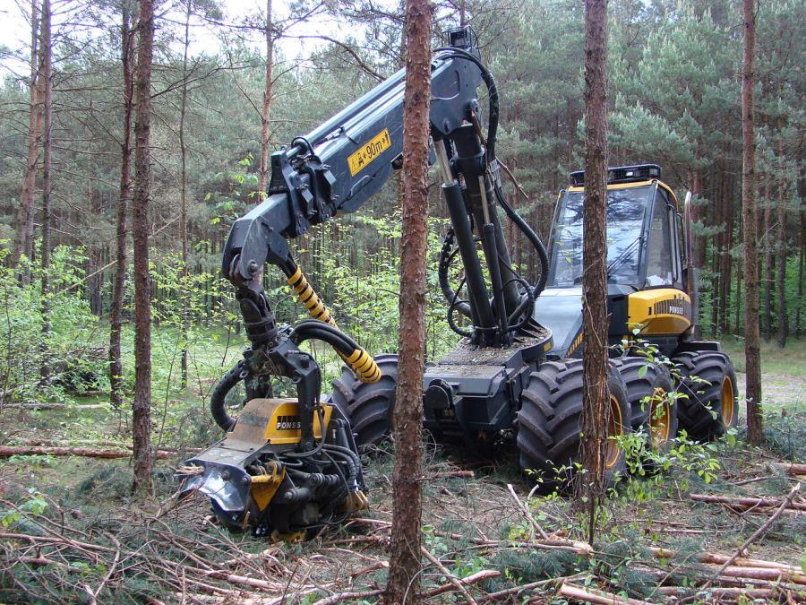 木材伐採機