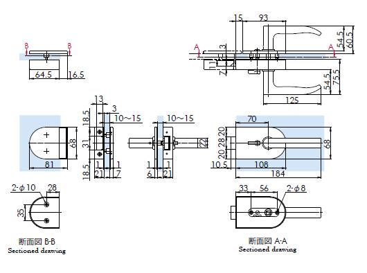 OT-C690-SUS寸法図